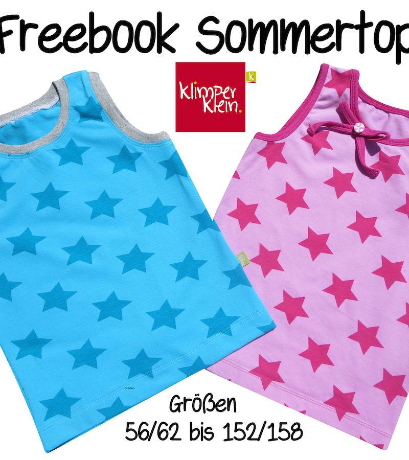 Freebook Sommertop