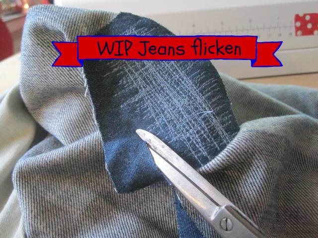 WIP Ratz-Fatz Jeans flicken