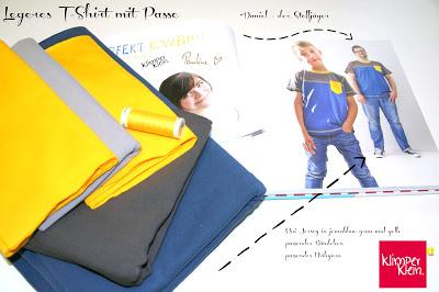 2. Tag der Buchvorstellung – Legeres Shirt mit Passe