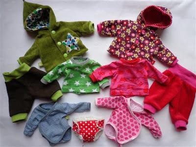 Kleidung & Accessoires Puppenkleidung selbst genäht Puppengröße ca.43 cm Baby Born
