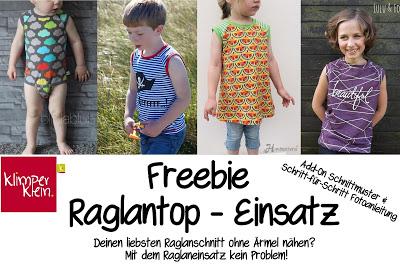 Freebook: Raglantop-Einsatz!