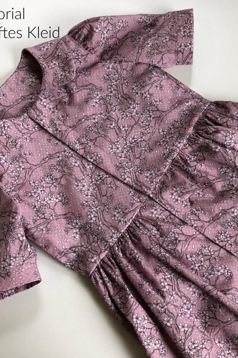 Tutorial Geknöpftes Kleid